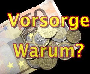 VorsorgeWarum